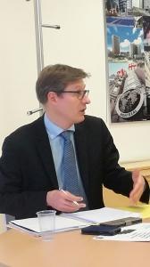 Philippe Bonnafous, Directeur Régionale des Douanes de Bretagnes