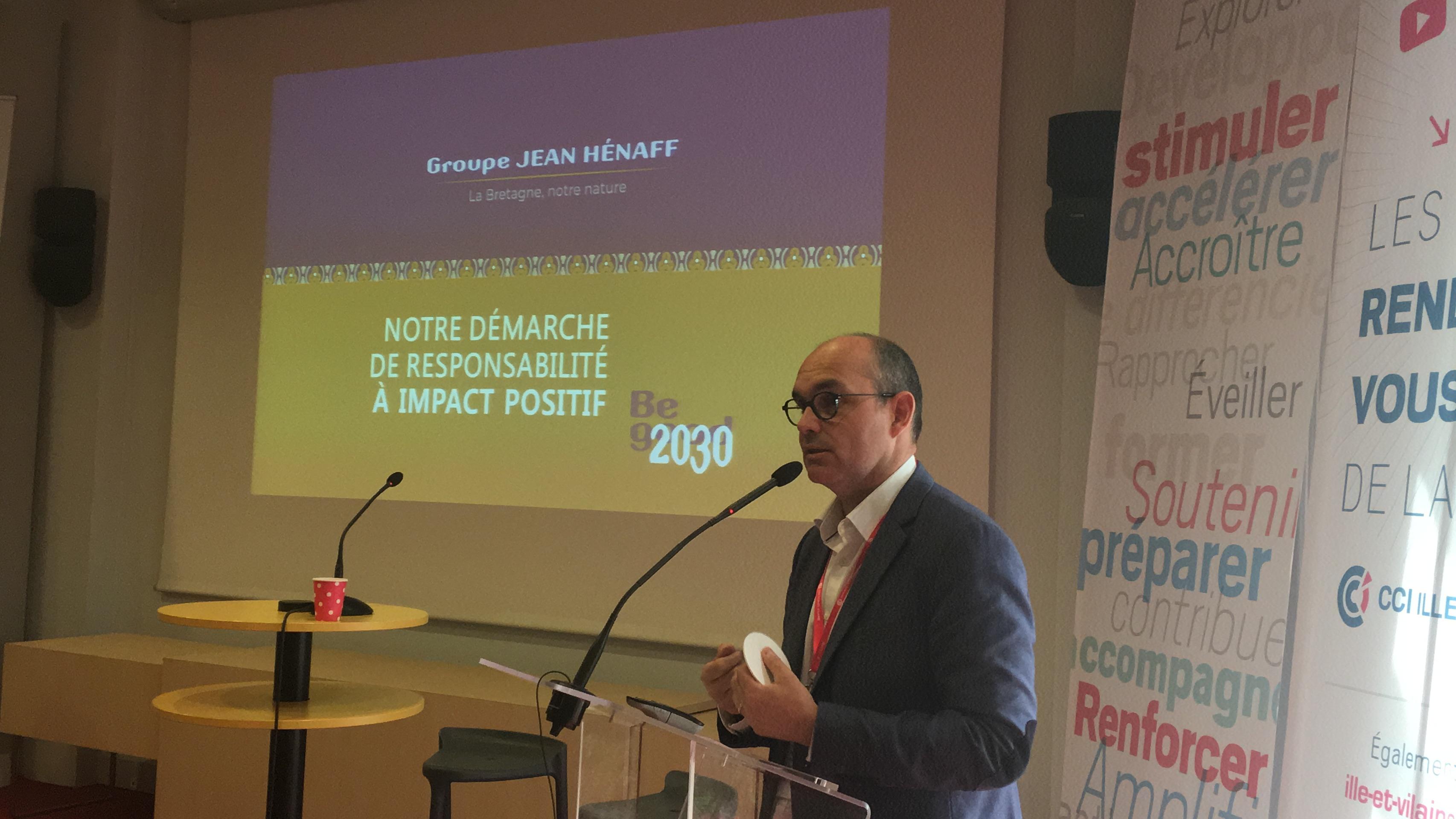 Loïc HENAFF - conférence RSE PED 16/05/2019