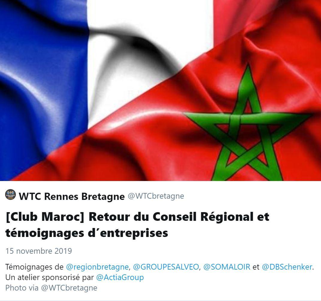 Moment Twitter Club Maroc 15/11/2019